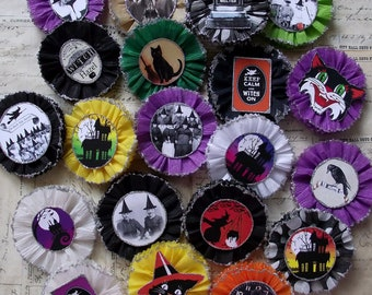 20 Bewitching  Crepe paper medallions