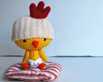 Bitty Birdie - Tiny Baby Chick Set with Play Accessories - Plush baby Doll - Stuffed Animal - Toy - Easter - Dress Up - Chicken - Miniature
