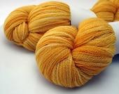 Butternut Squish-- 2-ply superfine merino wool lace weight yarn