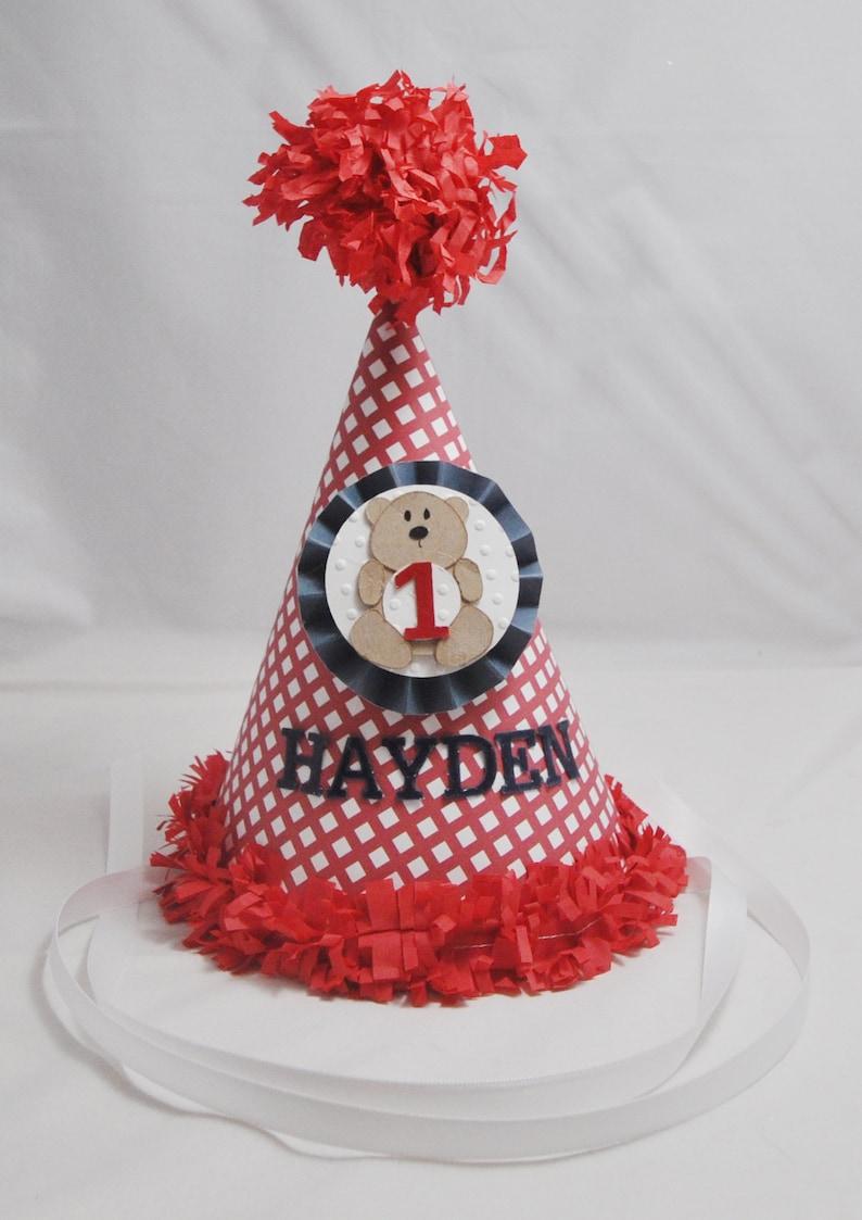 Teddy Bear Birthday Hat