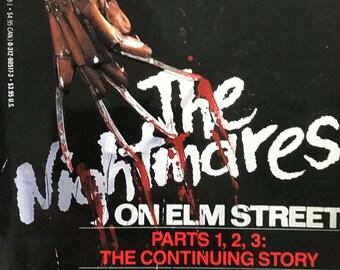 1987 The Nightmares on Elm Street paperback
