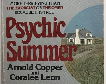 1977 Psychic Summer paperback