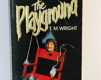 1982 The Playground horror paperback