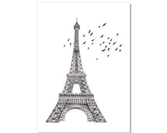 Eiffel Tower Archival Print