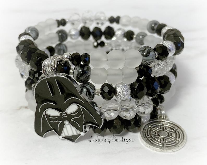 Star Wars Darth Vader Disney Wrap Bracelet Infinity Memory image 0