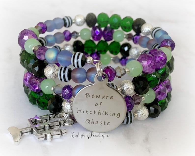Haunted Mansion Infinity Wrap Bracelet Disney Villain image 0