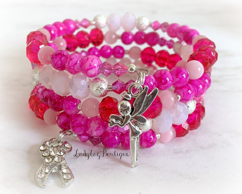 Breast Cancer Awareness Bracelet Disney Wrap October Make it image 0