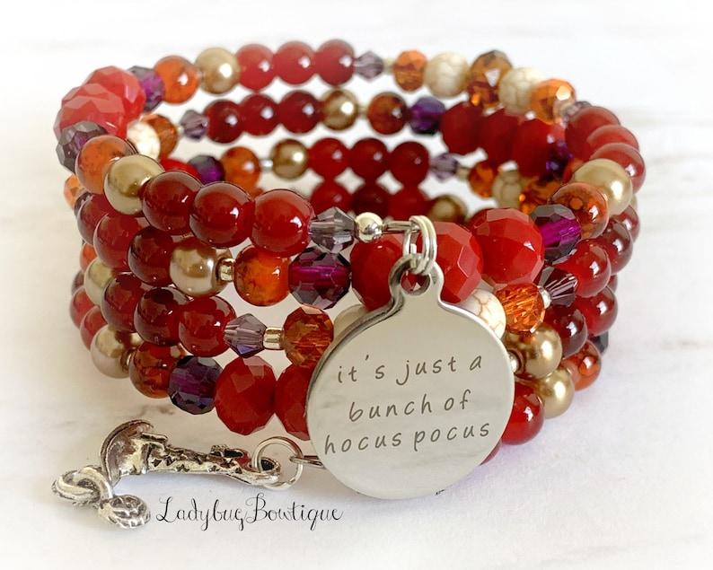 Mary Sanderson Infinity Wrap Bracelet Disney Witch Sisters Its image 0