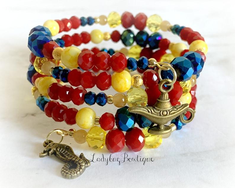 Descendants Jay Disney Infinity Wrap Bracelet Son of Jafar image 0