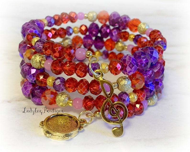 Esmeralda Wrap Bracelet Disney Hunchback of Notre Dame Gypsy image 0