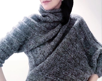 New authentic design handmade knitwear design sweater