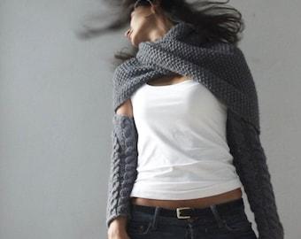 Custom Order Handmade Knit.thing Wrap