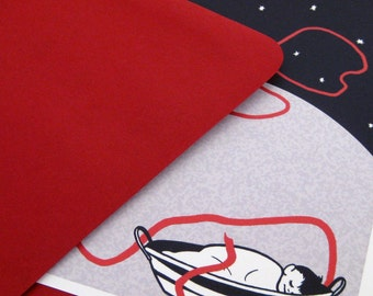 Red Thread Note Cards, Set of Five
