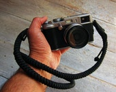 Camera Strap Hand knotted  - Strong, Beautiful and Unique, Tied with Celtic Knot - Choose from 4 colors - Photographer, Film Digital