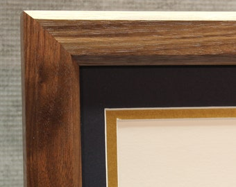 Certificate Frame, Walnut, Traditional, Office Decor, Home Office
