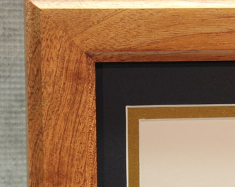 Certificate Frame, Mahogany, Traditional, Office Decor, Home Office