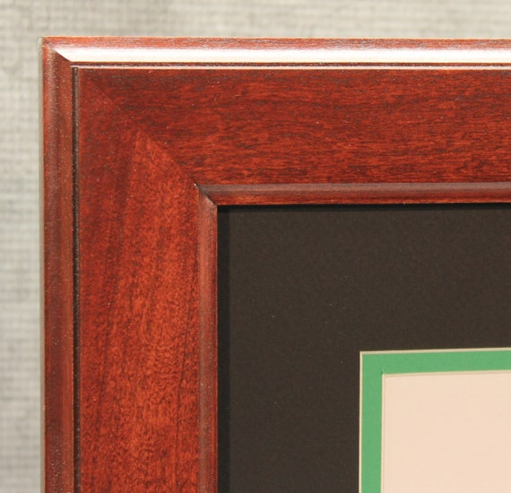 Diploma Frame 8 12 X 11 Traditional Cherry Frame Etsy