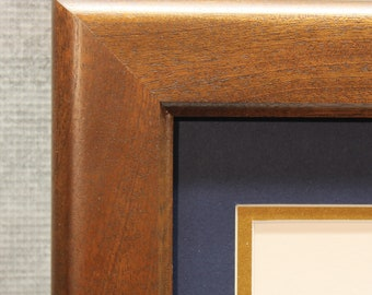 Mahogany Diploma Frame, Traditional, Graduation Gift