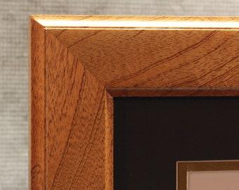 Diploma Frame, 14 x 17 diploma, Mahogany frame