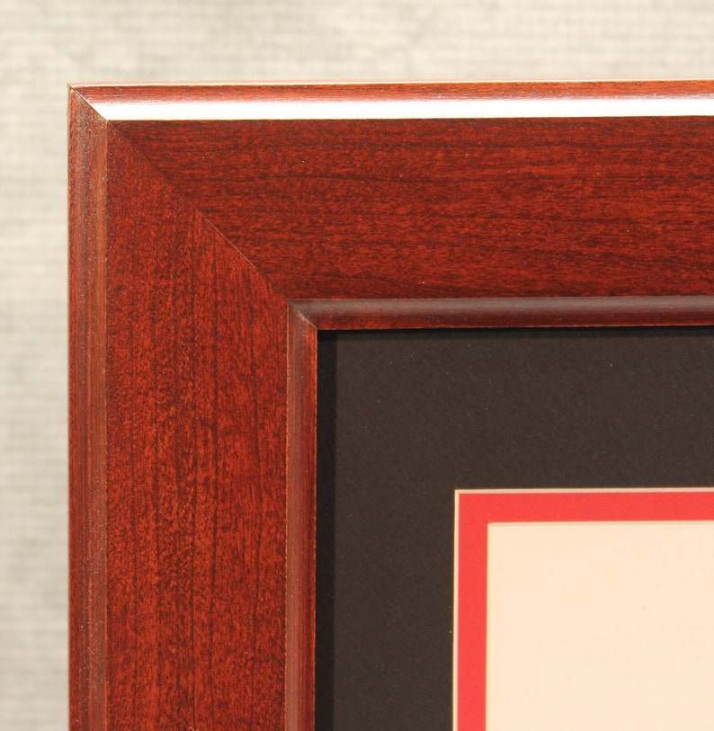 Diploma Frame Traditional Cherry Frame Office Decor image 0