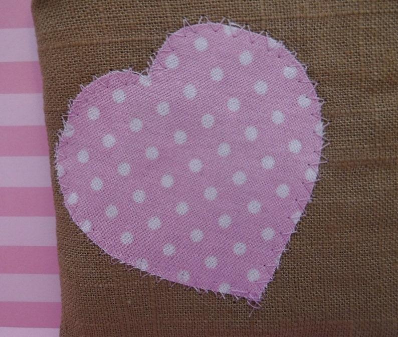 Heart Zipper Bag Pink Heart Pink Toiletry Bag Toiletry Bag Woman Travel Bag Polka Dot Heart Pink Polka Dot Tampon Bag Zipper Pouch