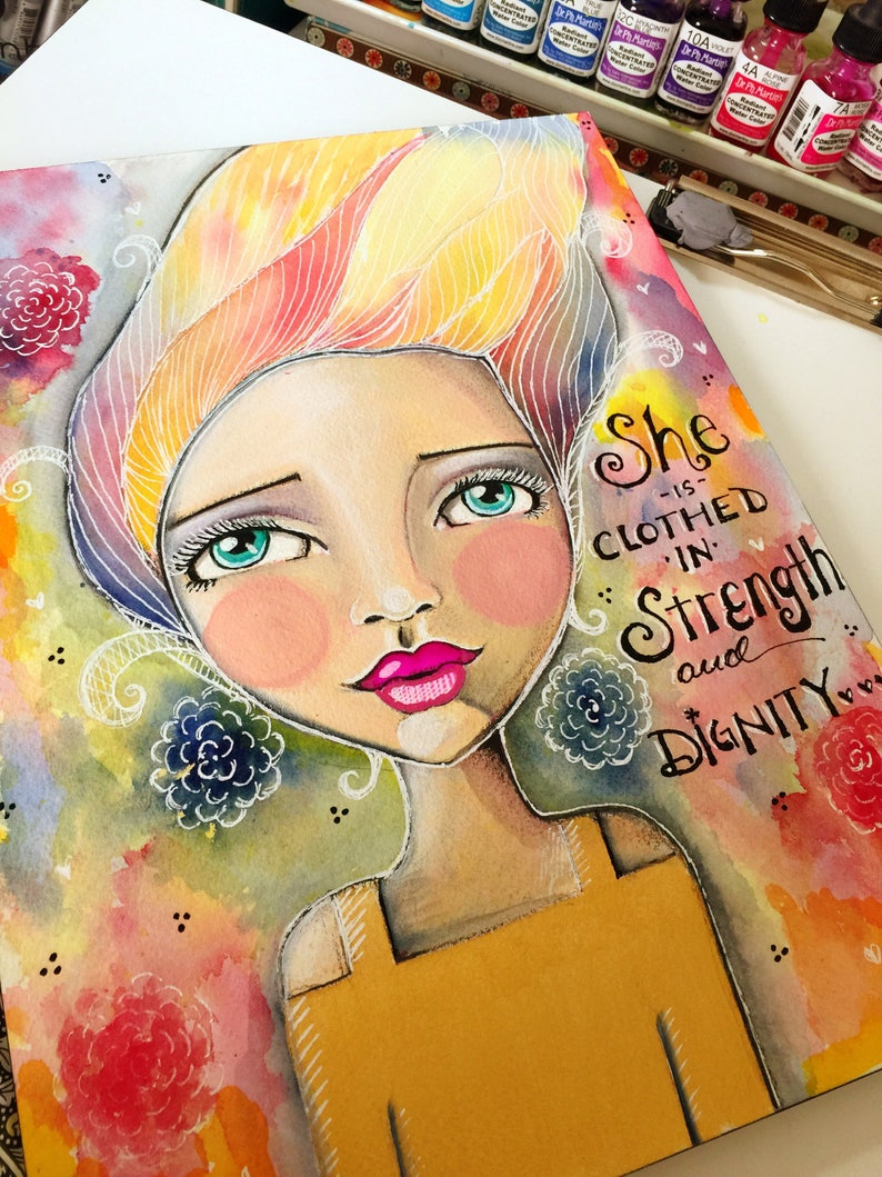 Proverbs 31 Collection She is Clothed in Strength and Dignity image 0