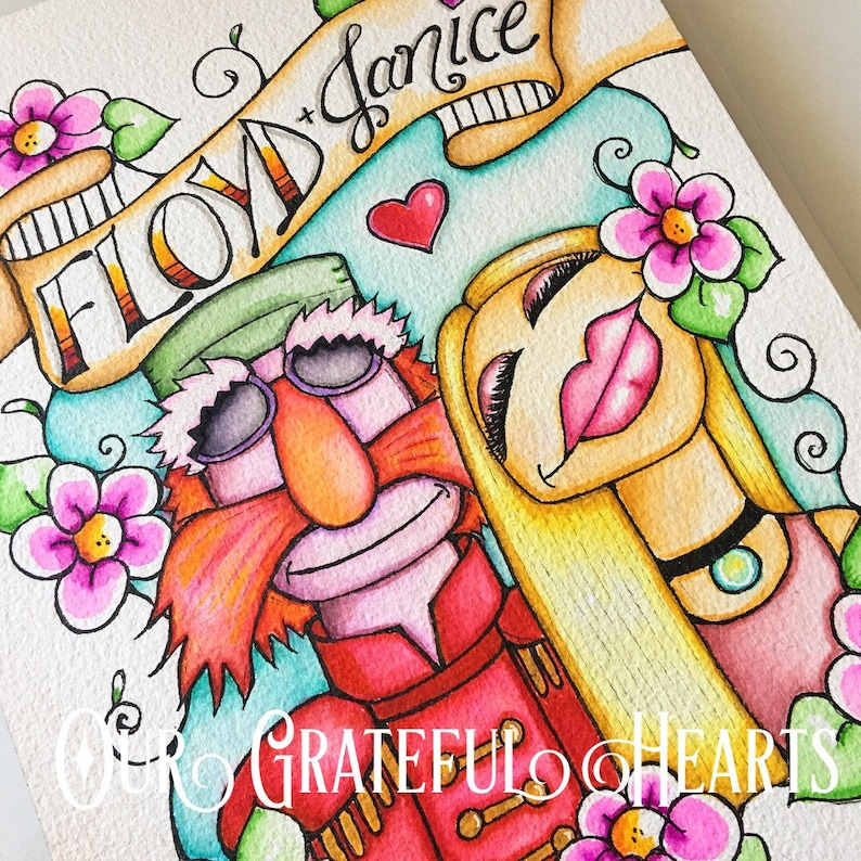Floyd Pepper and Janice / The Muppets / The Electric Mayhem / image 0