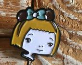 Miss Mouse - enamel pin 1 inch