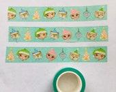 Santa's Helpers - washi tape 25mm