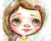 Blooming Blythe - art print by Mindy Lacefield
