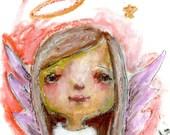 Angels Oil Pastel - online mini-class