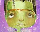 Lil Frank  - 5X7 art print by Mindy Lacefield