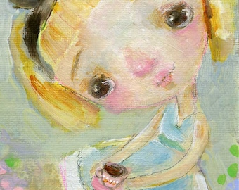 Alice  - art print by Mindy Lacefield