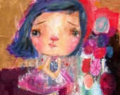 Carry Magic Inside  - art print by Mindy Lacefield