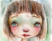 Ella  - art print by Mindy Lacefield