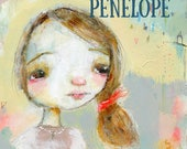 Penelope - online acrylic face painting workshop