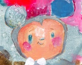 Speckled Egg Mickey  - art print by Mindy Lacefield