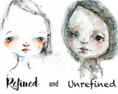 Refined and Unrefined online mini class- by Mindy Lacefield