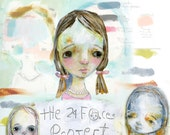 The 24 Faces Project online class - by Mindy Lacefield - RETIRED
