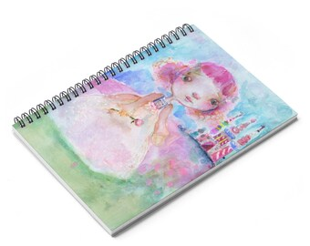Candy Castle Princess Spiral Notebook  Ruled Line