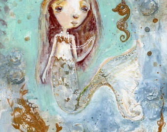 Bronzette - art print by Mindy Lacefield