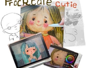 Procreate Cutie - online class