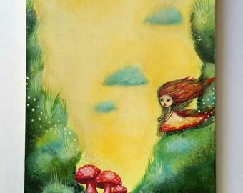 Looking for myself, original painting