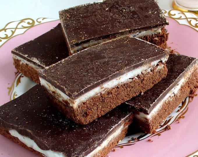 Chocolate Peppermint Shortbread