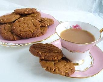 Peanut Butter Cookies 1 dozen Gluten free ingredients