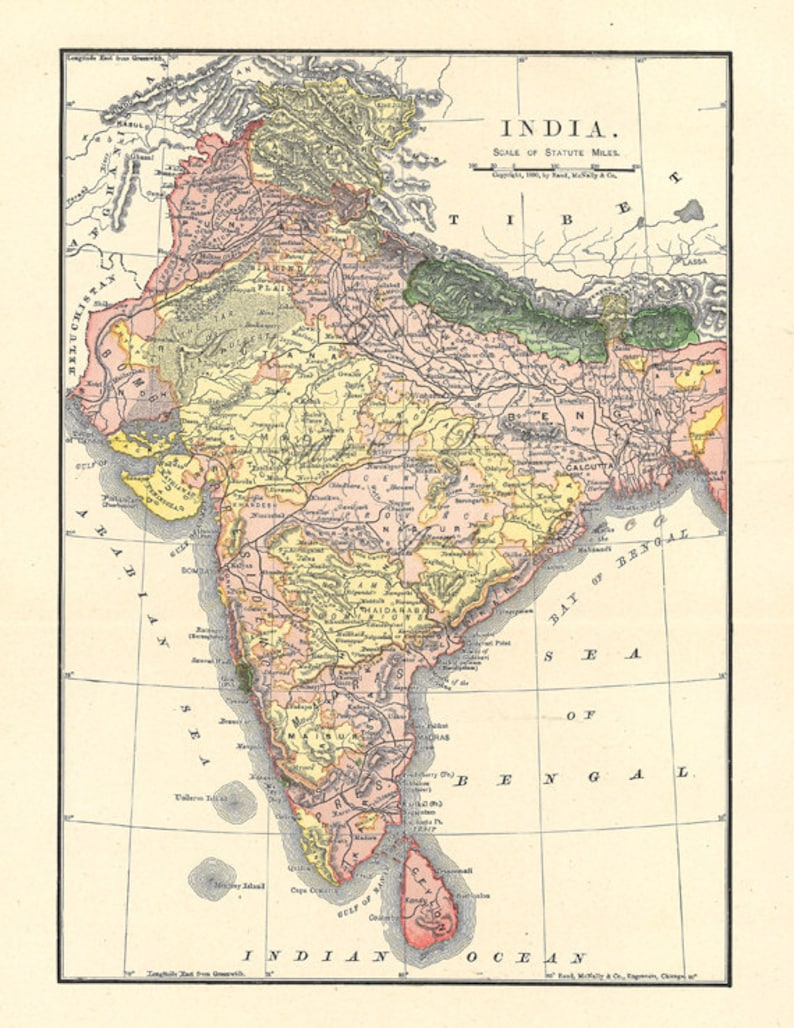 graphic relating to Printable Map of India referred to as map of India, printable map for property decor, creating, journaling, printable wall artwork, electronic obtain no. 341