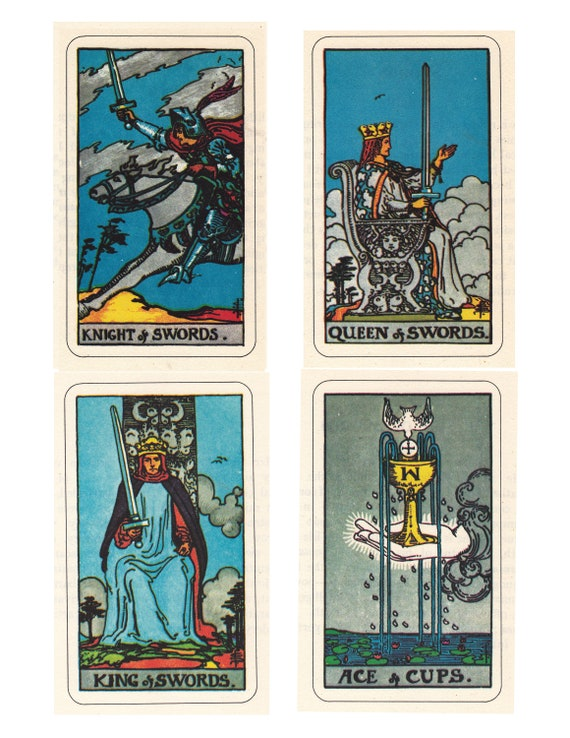 picture regarding Free Printable Tarot Cards identified as Rider Waite Smith Tarot playing cards, printable artwork, electronic downloads of the comprehensive established.