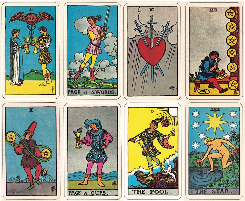 photo about Free Printable Tarot Cards identify Rider Waite Smith Tarot playing cards, printable artwork, electronic downloads of the in depth fastened.