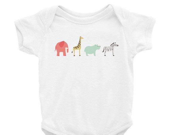 Let's Go to the Zoo - Infant Bodysuit
