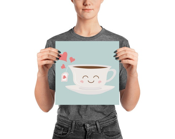Happy Tea Poster